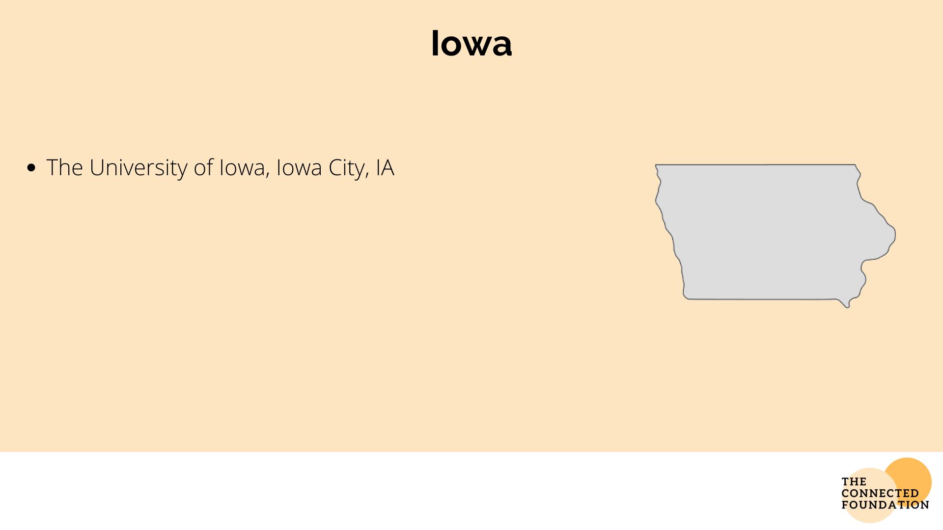 University of Iowa in Iowa