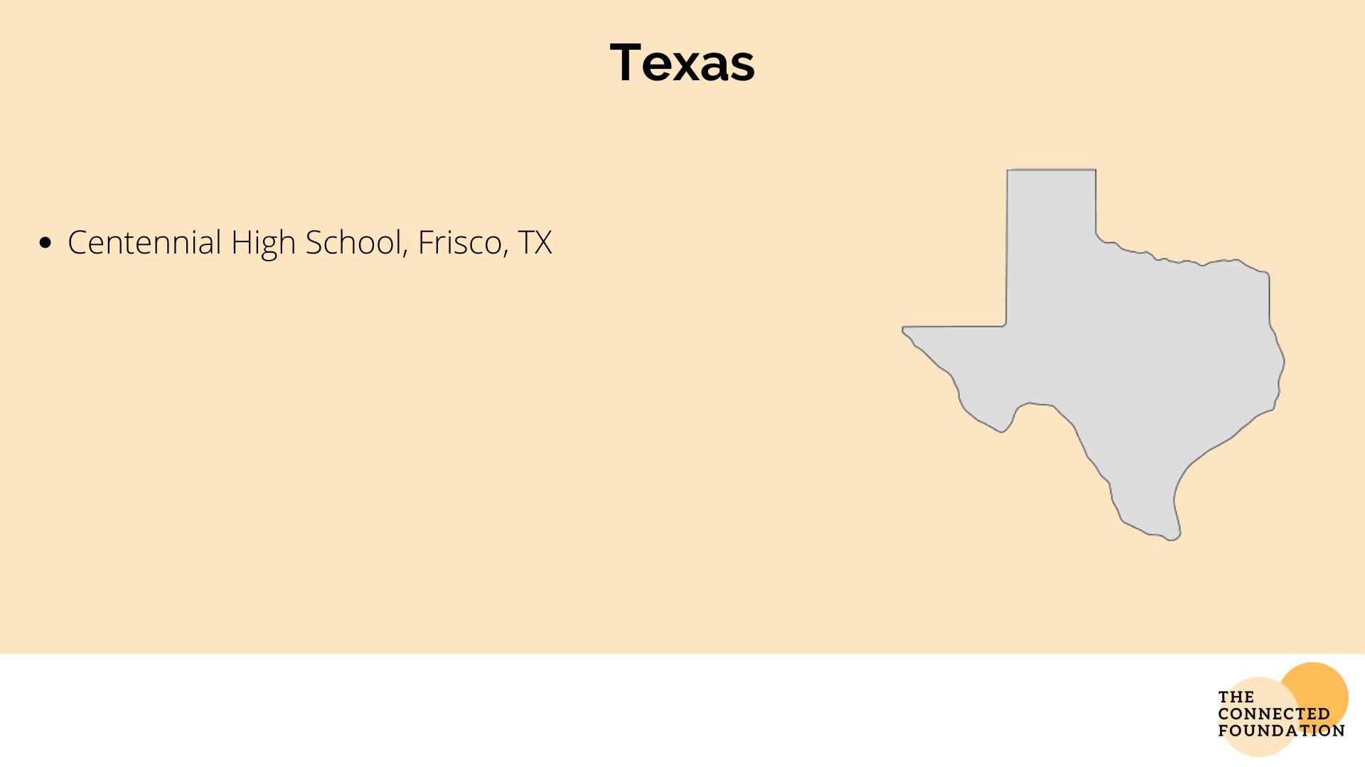 Centennial High School in Texas